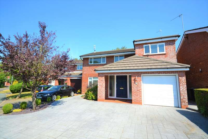 4 Bedrooms Detached House for sale in Portford Close, Macclesfield