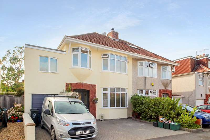 4 Bedrooms Semi Detached House for sale in Highridge Green, Uplands, Bristol BS13
