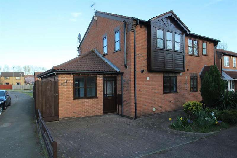 3 Bedrooms Semi Detached House for sale in Carisbrooke Road, Mountsorrel, Loughborough