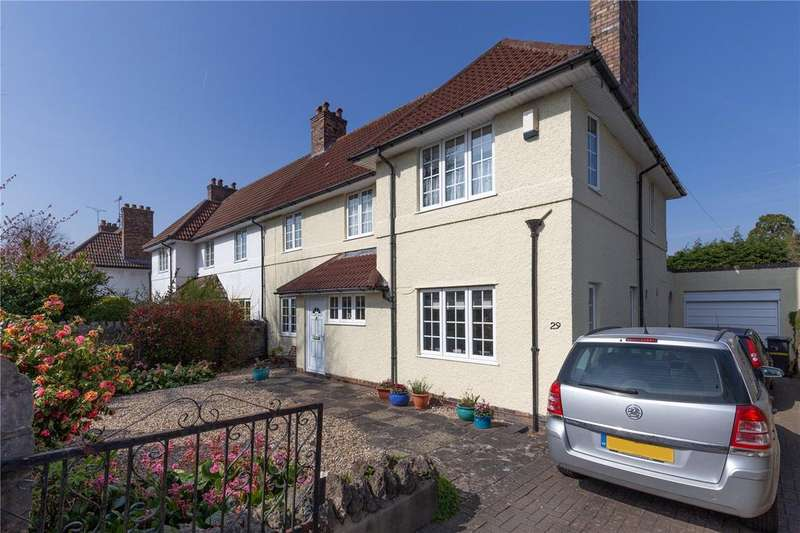 4 Bedrooms Semi Detached House for sale in Southmead Road, Henleaze, Bristol, BS10