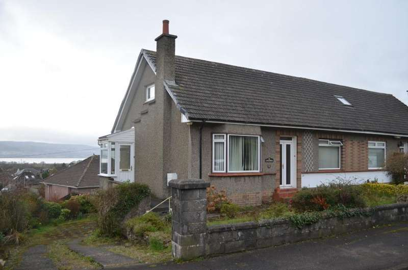 2 Bedrooms Bungalow for sale in Napier Avenue, Cardross, Argyll and Bute, G82 5LY