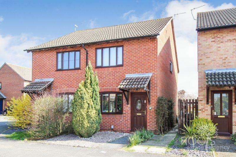 2 Bedrooms Semi Detached House for sale in Peachey Drive, Thatcham