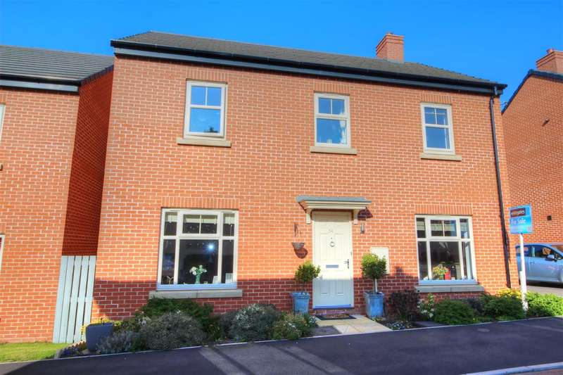 4 Bedrooms Detached House for sale in Douglas Avenue, Heanor
