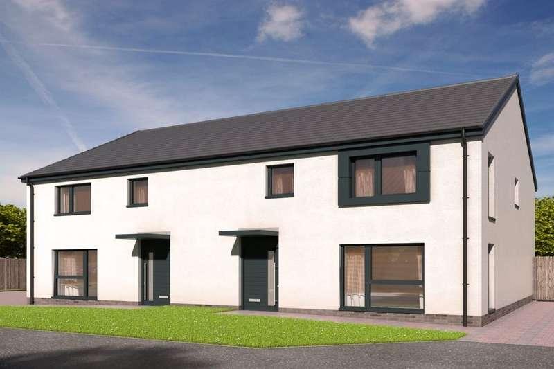 3 Bedrooms Semi Detached House for sale in Devongrange, Sauchie, Alloa, FK10