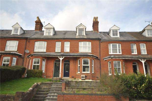 4 Bedrooms Terraced House for sale in Worting Road, Basingstoke, Hampshire