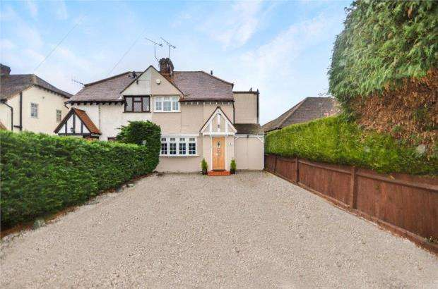 3 Bedrooms Semi Detached House for sale in Bray Road, Maidenhead, Berkshire