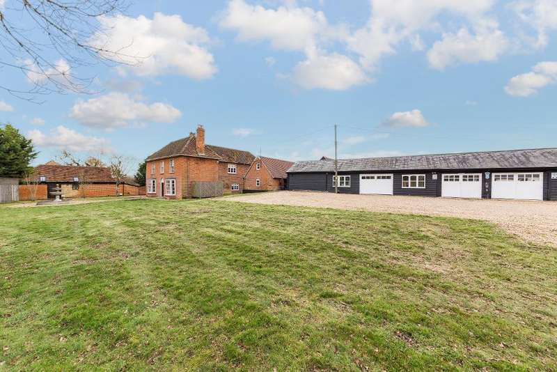 5 Bedrooms Detached House for sale in Sand Lane, Silsoe, Bedfordshire, MK45 4QR