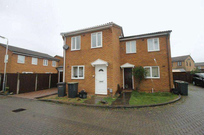 2 Bedrooms Semi Detached House for rent in Radstone Place, Luton