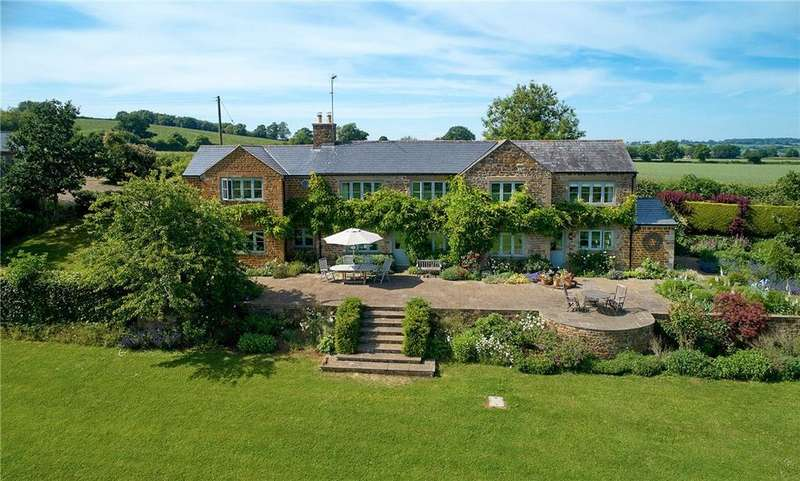 5 Bedrooms Detached House for sale in Nr Wiggington, Swerford, Chipping Norton, Oxfordshire, OX7