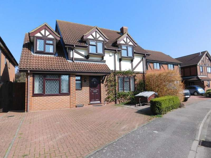 4 Bedrooms Detached House for sale in Ramerick Gardens, Arlesey, Beds SG15 6XZ