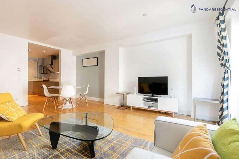 3 Bedrooms Flat for rent in Hatton Garden, London, EC1N