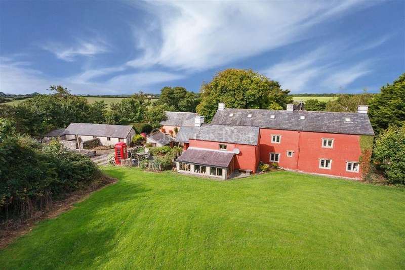 6 Bedrooms Detached House for sale in Walterston, Vale of Glamorgan