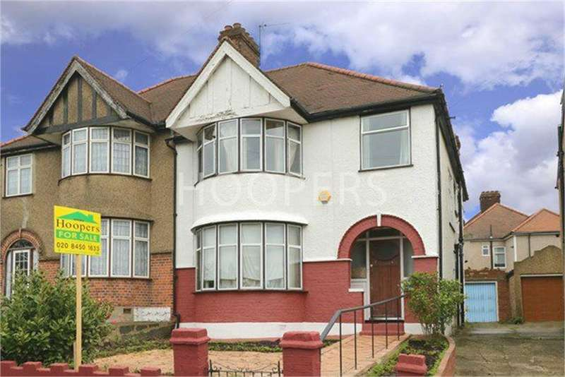 4 Bedrooms Semi Detached House for sale in Randall Avenue, London
