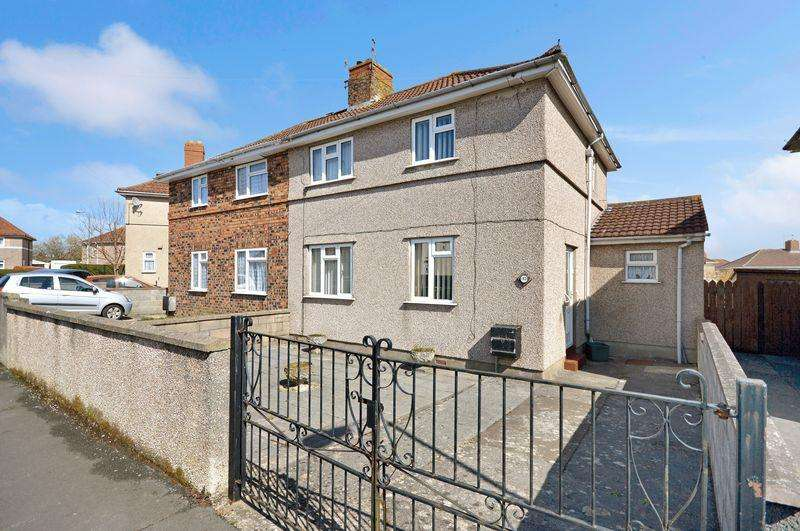 3 Bedrooms Semi Detached House for sale in Langford Road, Bristol