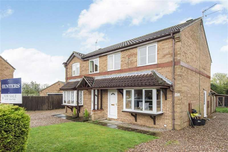3 Bedrooms Semi Detached House for sale in College Park, Horncastle, Lincs, LN9 6RJ