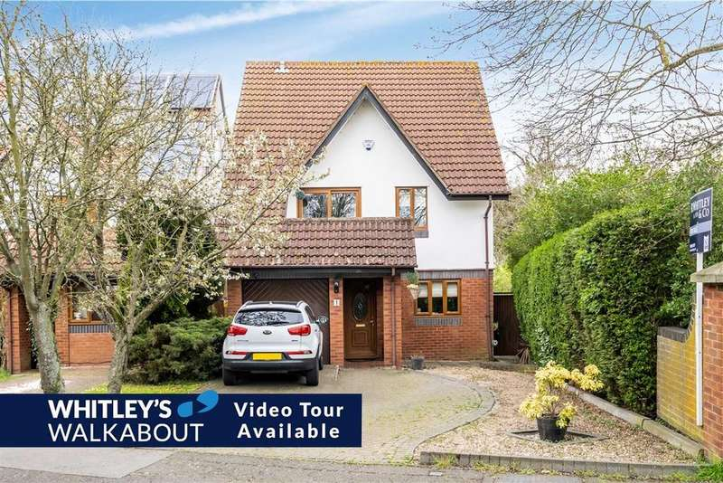 4 Bedrooms Detached House for sale in Wren Drive, West Drayton, Middlesex, UB7