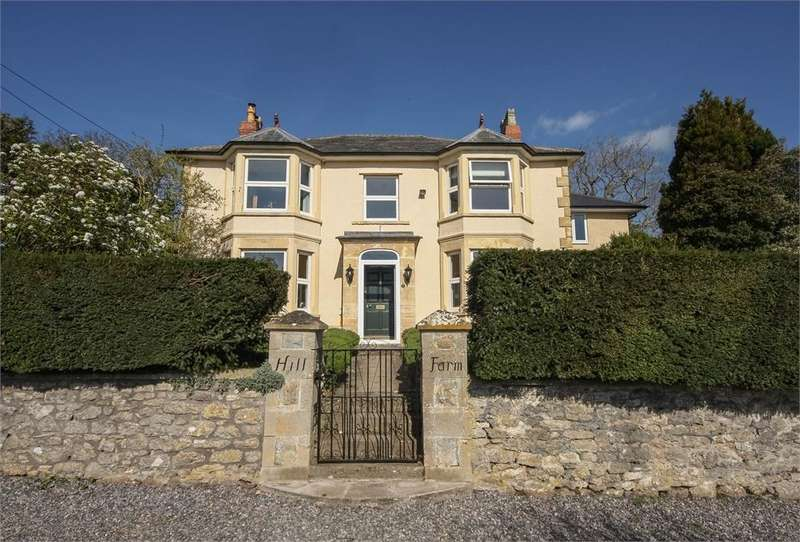 4 Bedrooms Detached House for sale in Hill Farm, Wells Road, RODNEY STOKE, Cheddar