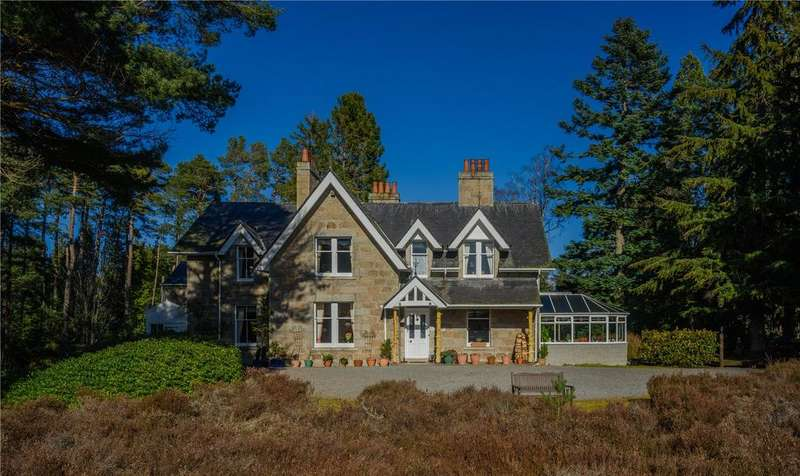 7 Bedrooms Detached House for sale in Glendavan House, Dinnet, Aboyne, Aberdeenshire, AB34