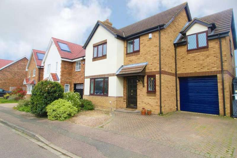 4 Bedrooms Detached House for sale in Howard Close, Wilstead, MK45