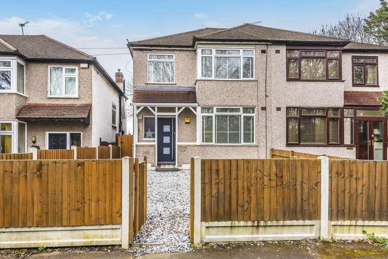 3 Bedrooms Semi Detached House for sale in Elmstead Lane, Chislehurst