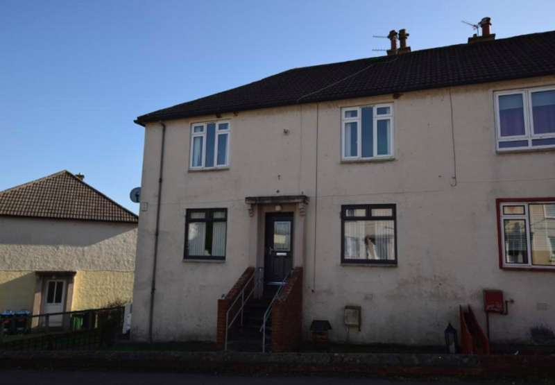 2 Bedrooms Flat for sale in Broom Crescent, Ochiltree KA18
