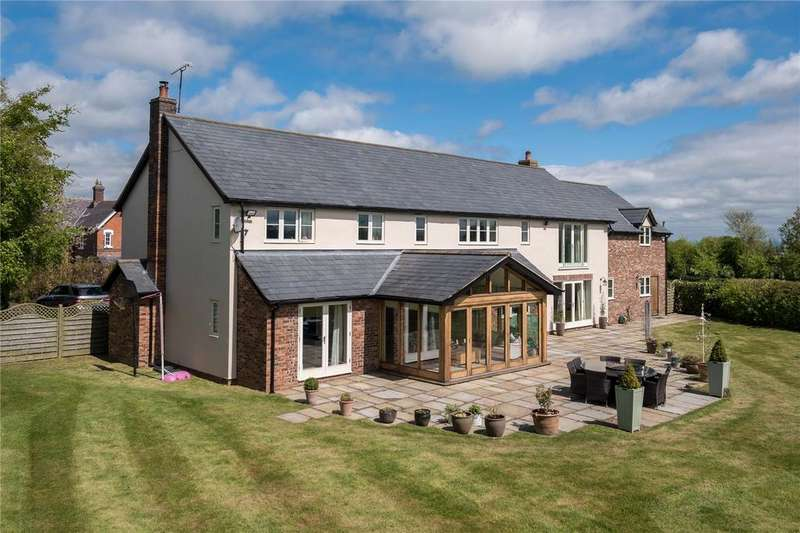 5 Bedrooms Detached House for sale in Wyche Lane, Bunbury, Tarporley, Cheshire, CW6