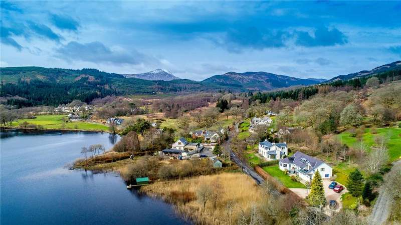 5 Bedrooms Detached House for sale in Island View, Kinlochard, Stirling, FK8