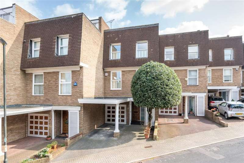 4 Bedrooms Terraced House for sale in Welford Place, Wimbledon, London, SW19