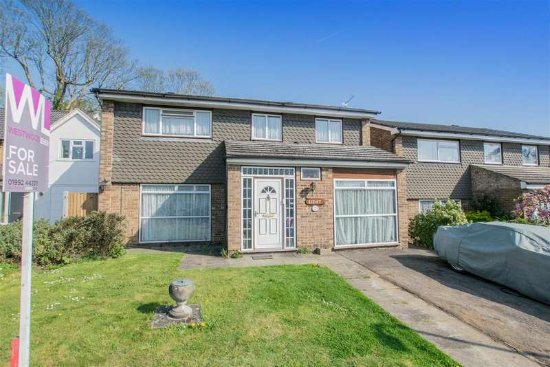 4 Bedrooms Detached House for sale in Sheredes Drive, Hoddesdon