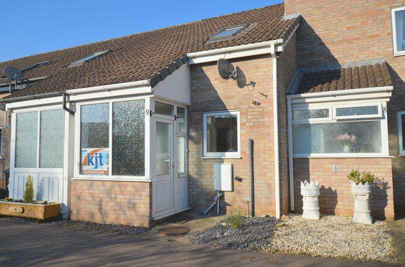 2 Bedrooms Terraced House for sale in Darters Close, Lydney