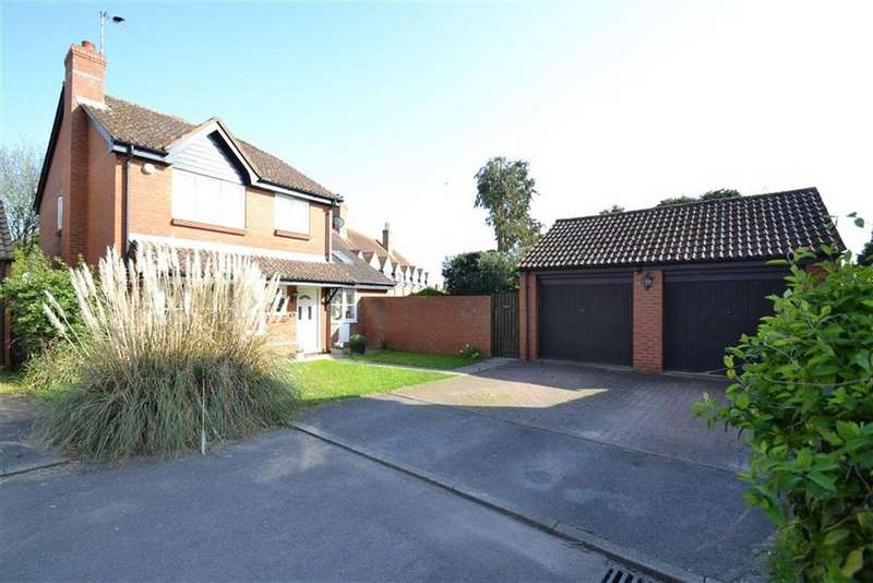 4 Bedrooms Detached House for sale in Meadow Close, Compton, Berkshire, RG20