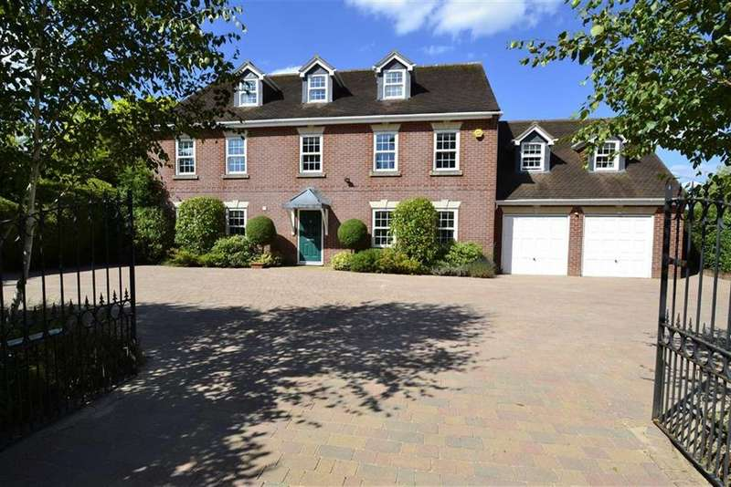 5 Bedrooms Detached House for sale in Ashford Hill Road, Ashford Hill, Berkshire, RG19