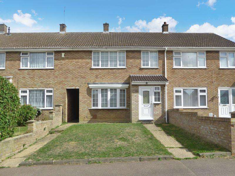 3 Bedrooms Terraced House for sale in Gelding Close, Luton