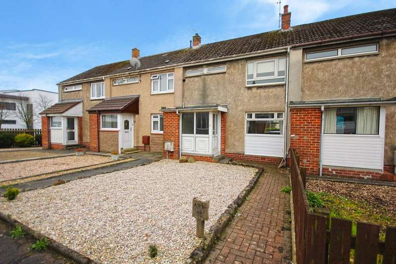 2 Bedrooms Terraced House for sale in Woodlea Court, Crosshouse KA2