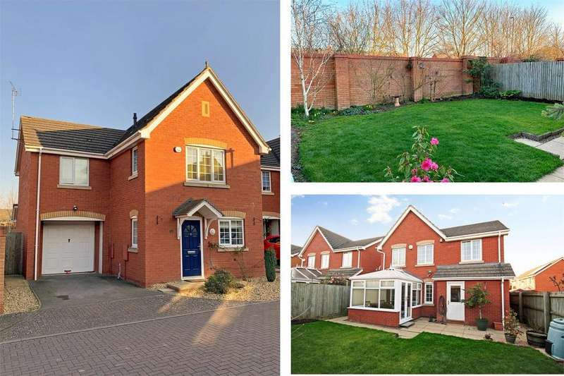 4 Bedrooms Detached House for sale in Harness Close, Hempsted, GLOUCESTER