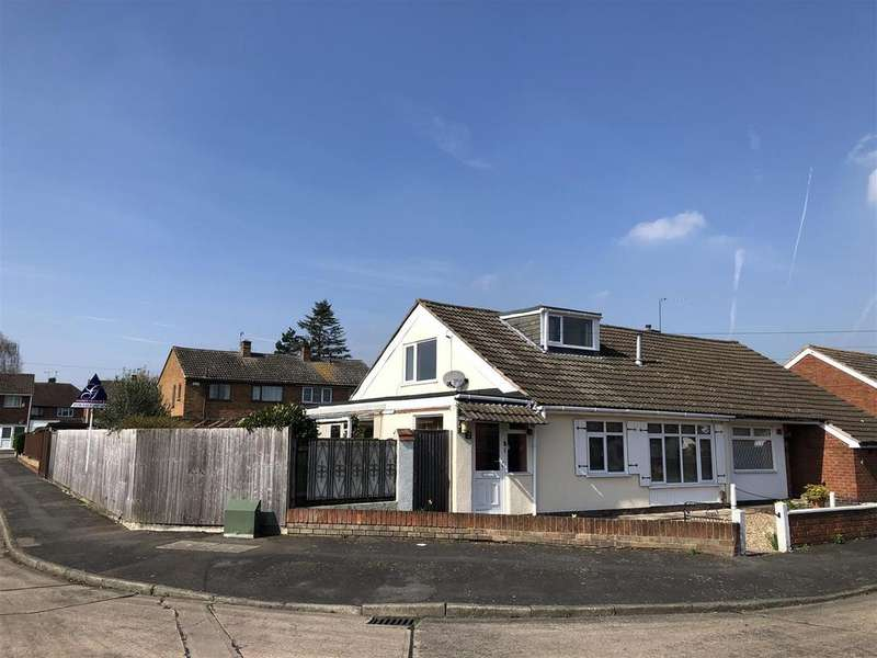 3 Bedrooms Semi Detached Bungalow for sale in Keswick Close, Birstall, Leicester