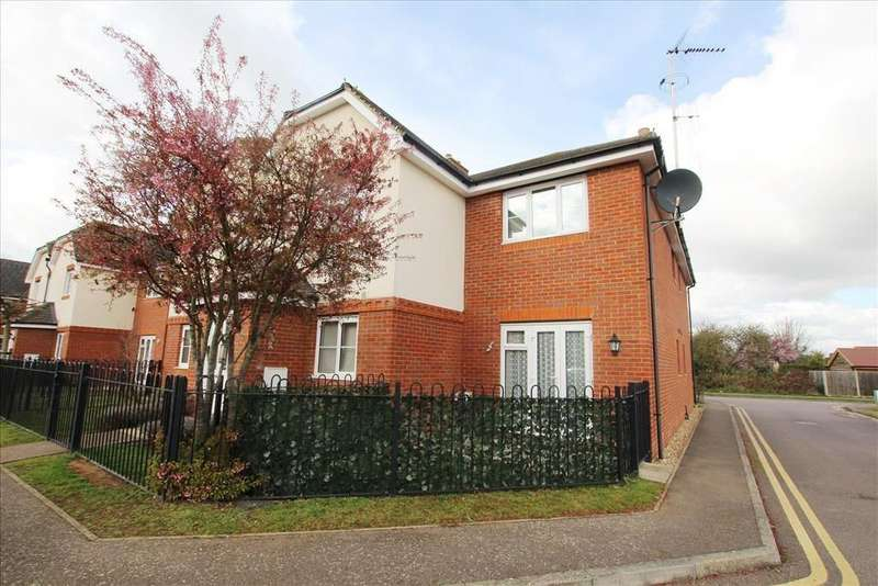 2 Bedrooms Apartment Flat for sale in Chambers Way, Biggleswade, SG18