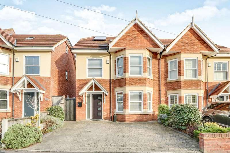 4 Bedrooms Semi Detached House for sale in Burnham Road, Leigh-on-Sea