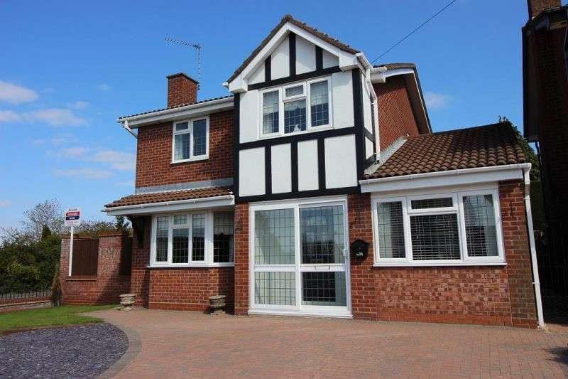 4 Bedrooms Detached House for sale in Hilliard Close, Saxons Head, Bedworth, Warwickshire. CV12 8TJ
