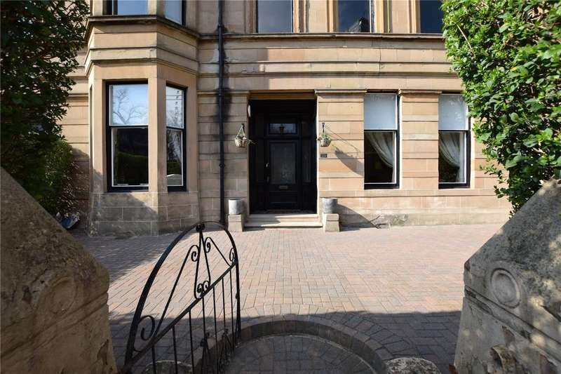 3 Bedrooms Apartment Flat for sale in Main Door, Broomhill Drive, Broomhill, Glasgow