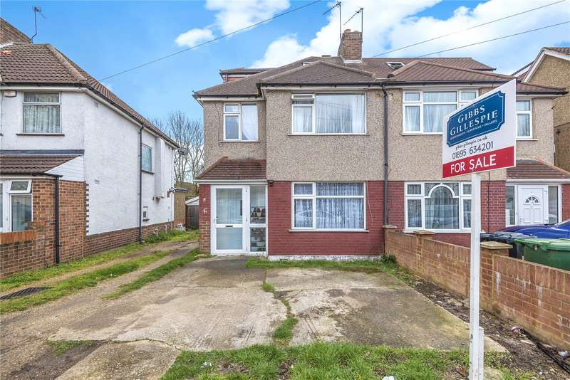 4 Bedrooms Semi Detached House for sale in Danemead Grove, Northolt, Middlesex, UB5