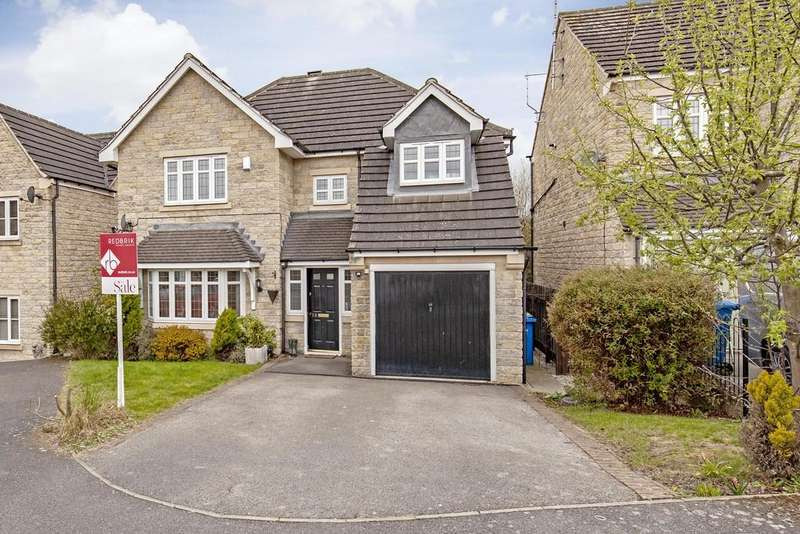 4 Bedrooms Detached House for sale in Staunton Close, Chesterfield