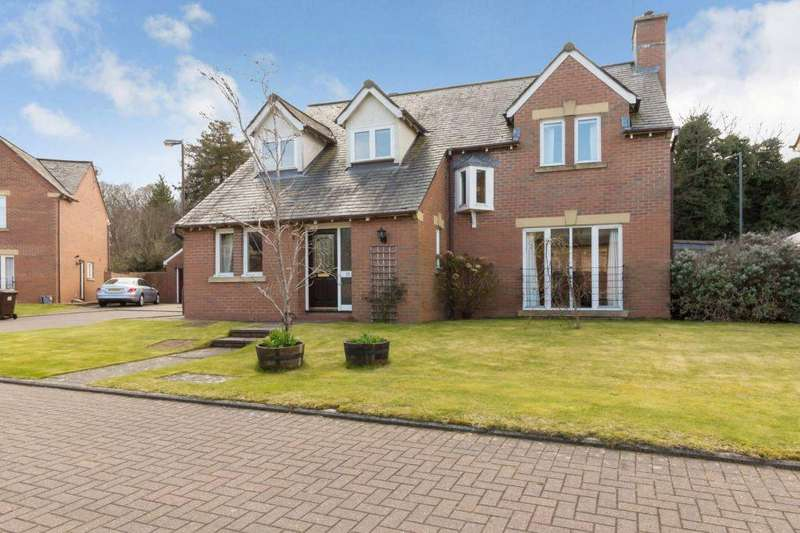 5 Bedrooms Detached House for sale in 28 Newbattle Gardens, Dalkeith, EH22 3DR