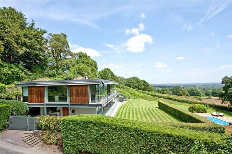 5 Bedrooms Detached House for sale in Quell Lane, Haslemere, Surrey, GU27