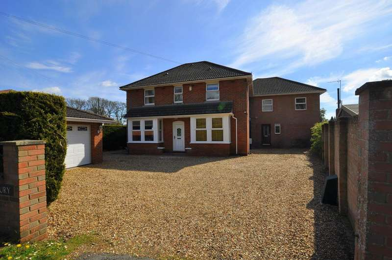 5 Bedrooms Detached House for sale in Station Road, Verwood, BH31 7LB