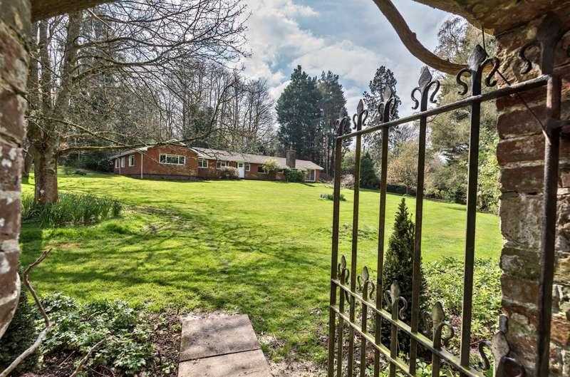 4 Bedrooms Detached Bungalow for sale in Iping, Midhurst, GU29
