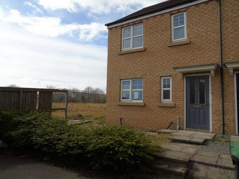 3 Bedrooms End Of Terrace House for sale in Brown Court, Crook