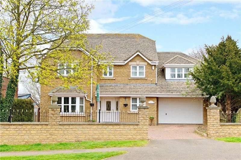 5 Bedrooms Detached House for sale in Orlingbury Road, Little Harrowden, Wellingborough, Northamptonshire