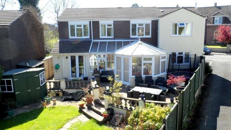 4 Bedrooms Detached House for sale in Hillcrest Road, Nailsea
