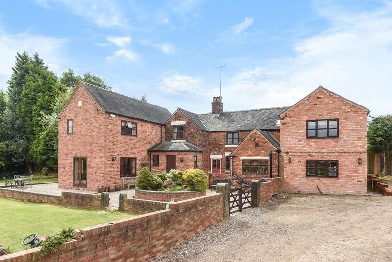 6 Bedrooms Detached House for sale in Horsley Woodhouse DERBYSHIRE